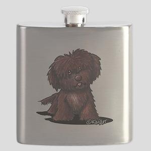 Shih Tzu Chocolate Flask