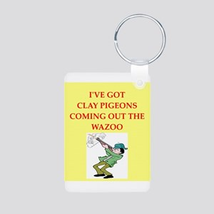 trap shooter Keychains