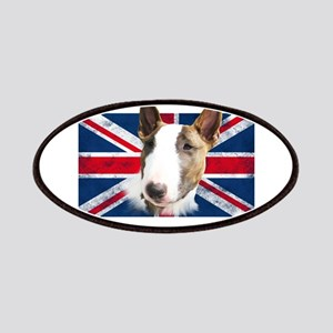 Bull Terrier UK grunge flag Patches
