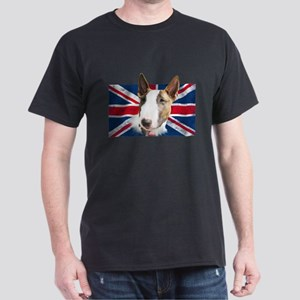 Bull Terrier UK grunge flag T-Shirt