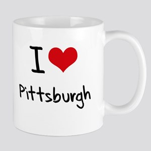 I Heart PITTSBURGH Mug
