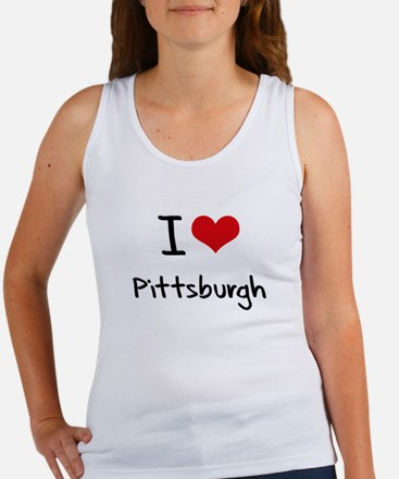 I Heart PITTSBURGH Tank Top