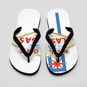 Las Vegas Sign Flip Flops