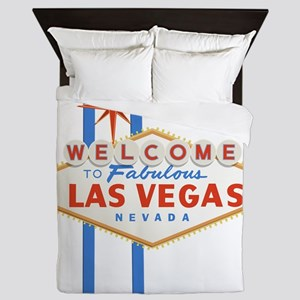 Las Vegas Sign Queen Duvet