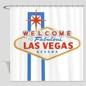 Las Vegas Sign Shower Curtain