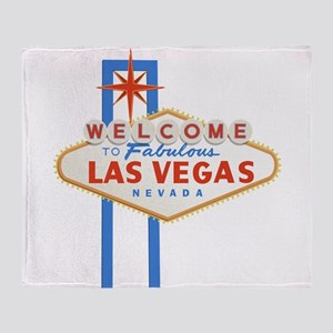 Las Vegas Sign Throw Blanket
