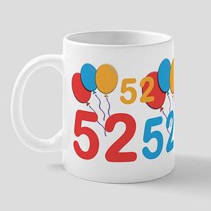 52 Years Old - 52nd Birthday Mug