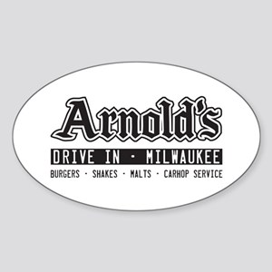 Arnold's Drive In Sticker (Oval)