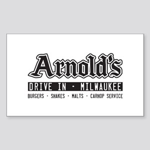 Arnold's Drive In Sticker (Rectangle)