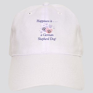 Happiness is...a German Shepherd Dog Cap