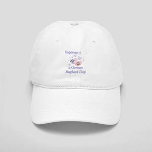 Happiness is...a German Shepherd Dog Cap