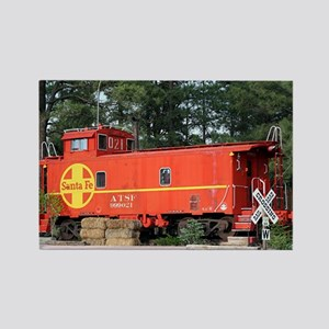 Santa Fe Railway Train Caboose, Williams, Arizona,