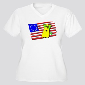 Space Aliens Love America Too! Plus Size T-Shirt