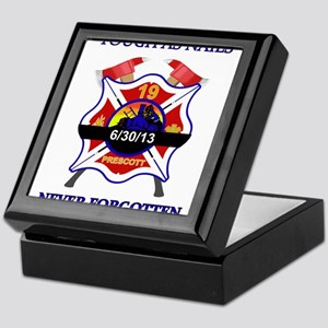 Memory of Arizona's Hotshots Keepsake Box
