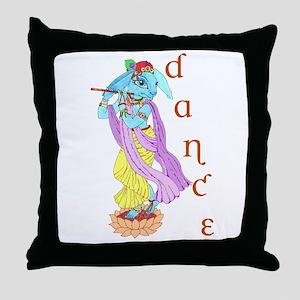 Hare Krishna Dance ! Throw Pillow
