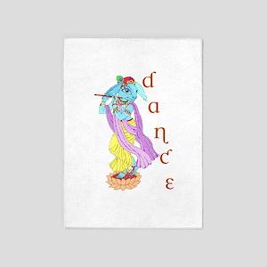 Hare Krishna Dance ! 5'x7'Area Rug