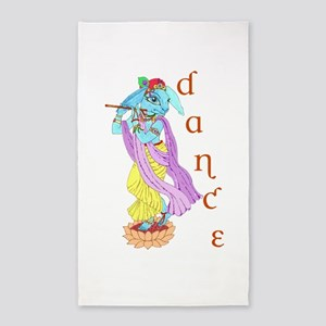 Hare Krishna Dance ! 3'x5' Area Rug
