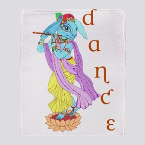 Hare Krishna Dance ! Throw Blanket