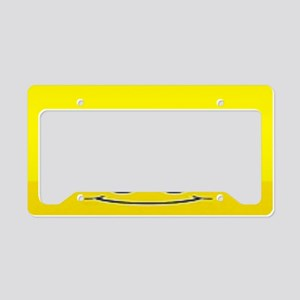Happy Face License Plate Holder