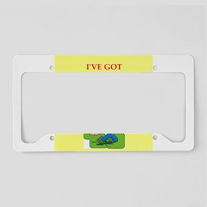 golf License Plate Holder