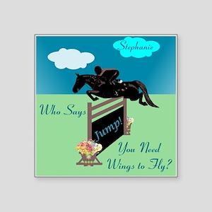 Fun Grand Prix Horse Jumper Sticker