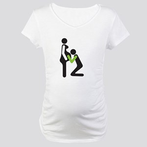 parents to be - task acomplished Maternity T-Shirt