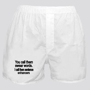 You call them swear words Boxer Shorts