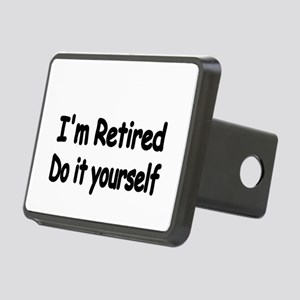 IM RETIRED Hitch Cover