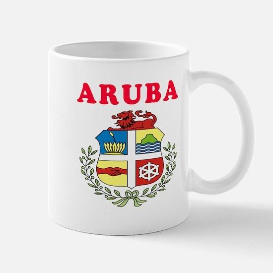 Aruba Coat Of Arms Designs Mug