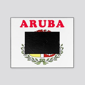 Aruba Coat Of Arms Designs Picture Frame