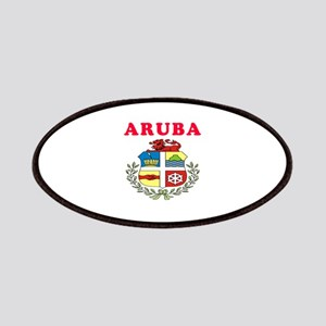 Aruba Coat Of Arms Designs Patches