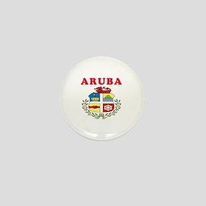 Aruba Coat Of Arms Designs Mini Button