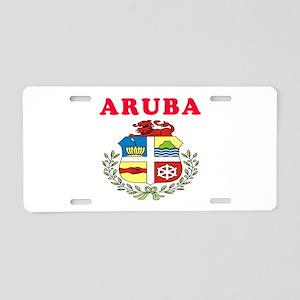 Aruba Coat Of Arms Designs Aluminum License Plate
