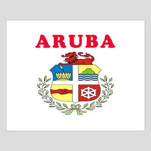 Aruba Coat Of Arms Designs Small Poster