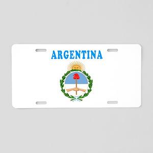 Argentina Coat Of Arms Designs Aluminum License Pl