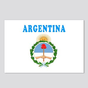 Argentina Coat Of Arms Designs Postcards (Package