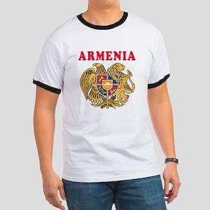 Armenia Coat Of Arms Designs Ringer T