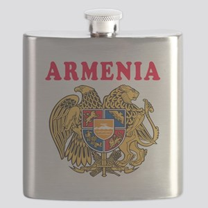 Armenia Coat Of Arms Designs Flask
