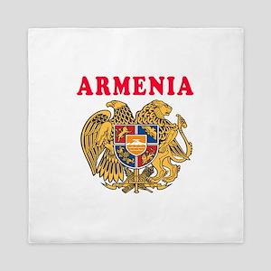 Armenia Coat Of Arms Designs Queen Duvet