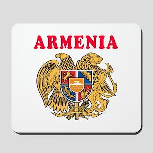 Armenia Coat Of Arms Designs Mousepad