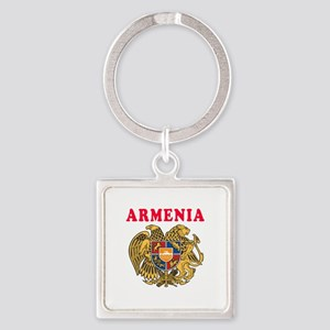 Armenia Coat Of Arms Designs Square Keychain