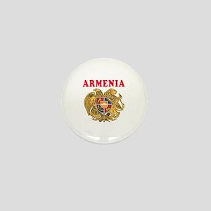Armenia Coat Of Arms Designs Mini Button