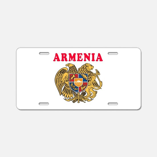 Armenia Coat Of Arms Designs Aluminum License Plat