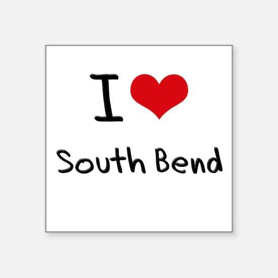 I Heart SOUTH BEND Sticker