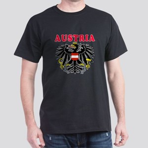 Austria Coat Of Arms Designs Dark T-Shirt