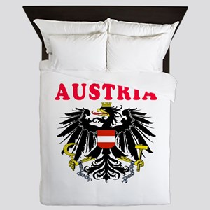 Austria Coat Of Arms Designs Queen Duvet