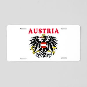 Austria Coat Of Arms Designs Aluminum License Plat