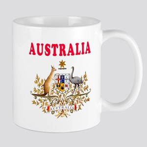 Australia Coat Of Arms Designs Mug