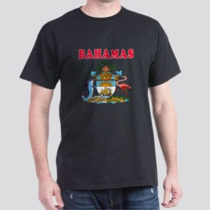 Bahamas Coat Of Arms Designs Dark T-Shirt