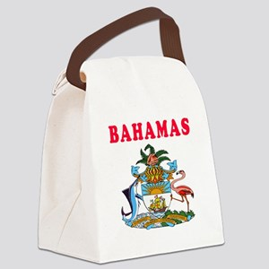 Bahamas Coat Of Arms Designs Canvas Lunch Bag
